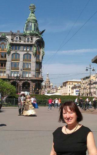 Maria Jane Loizou in Russia